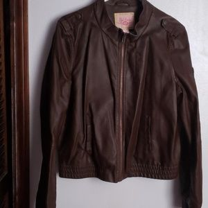 """🎄CHRISTMAS  SALE 🎄""""Faux Leather shell Jacket"""